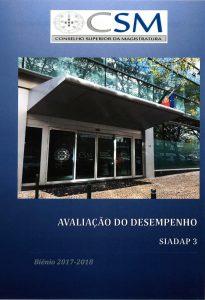 Avaliação do Desempenho - SIADAP 3