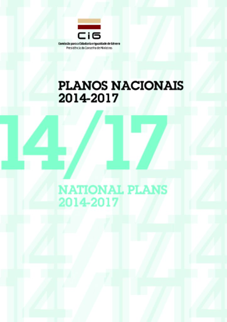 miniatura de V National Plan to Prevent and Combat Domestic and Gender based Violence 20142017