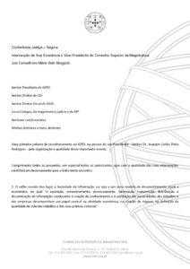 miniatura de Intervenção Vice-Presidente Justiça Segura