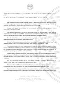 miniatura de SESSÃO DE TOMADA DE POSSE DOS JUÍZES DE DIREITO DO XXXI CURSO NORMAL DE FORMAÇÃO DE JUÍZES Rui Paulo Santos