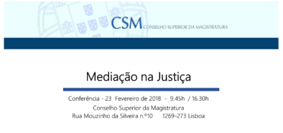 Mediação na Justiça