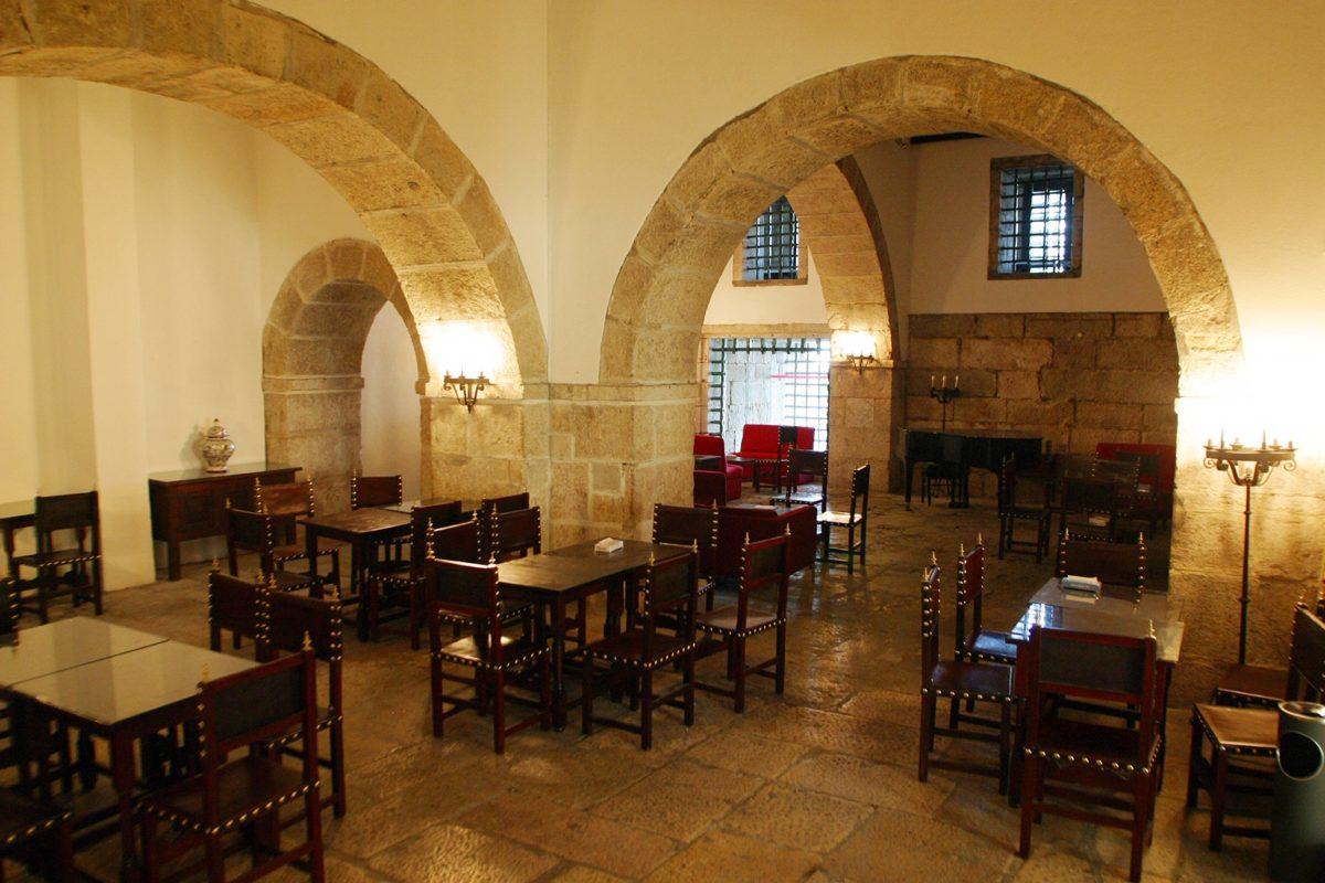 Centro de Estudos Judiciários, imagem da sala de convívio