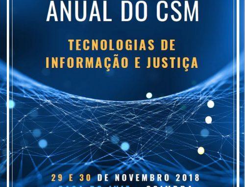 Vídeos do XIII Encontro Anual do CSM – Coimbra, 29 e 30.11.2018