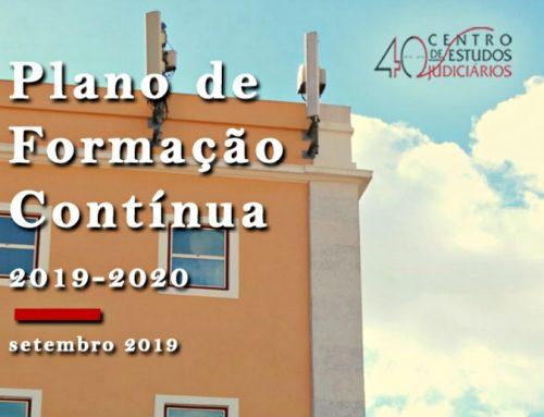 Prazo de inscrição nas Ações de Formação Complementar e Contínua 2019/2020 – 15 de outubro de 2019, até às 23h59m