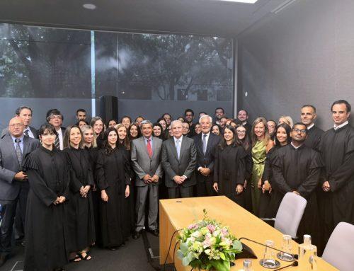 Cerimónia de Tomada de posse – Juízes de Direito em regime de estágio