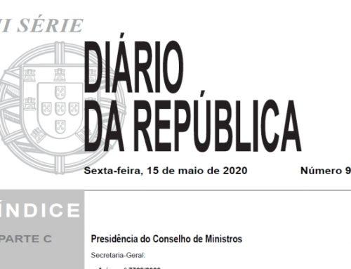 Abertura do Movimento Judicial 2020 – Publicação do aviso