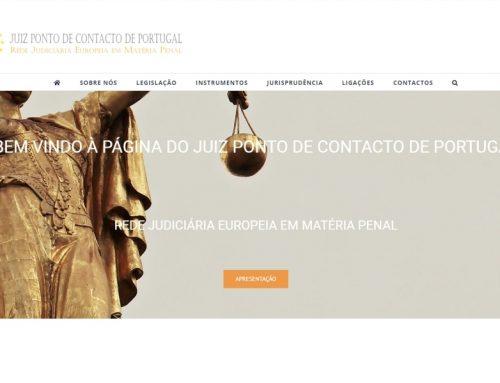 Divulgação do Ponto de Contacto da RJE Penal