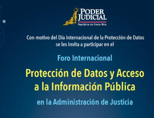 Fórum Internacional sobre Proteção de Dados e Acesso à Informação Pública