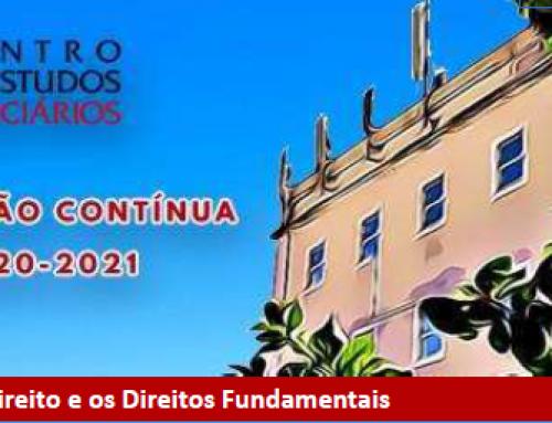 """Webconferência """"O Estado de Direito e os Direitos Fundamentais"""" – 21 de maio de 2021"""