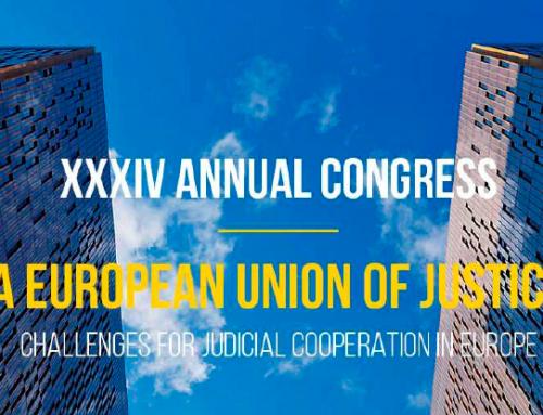 XXXIV Congresso da União dos Advogados Europeus – 25 de junho de 2021